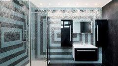 Мозаика Мозаика Valtera стеклянная настенная для ванной комнаты Прямоугольники
