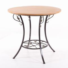 АЭМСИ Стол круглый деревянный