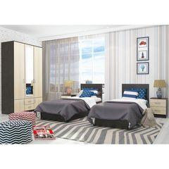 Спальня Интерьер-Центр Ронда-2 (венге/беленый дуб)