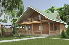 WoodHata Проект дома Pr-D-02