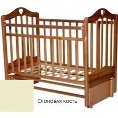 Детская кровать Детская кровать Антел Каролина 5 слоновая кость