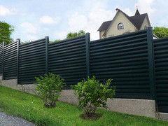 Забор Забор МСК Инвест Забор-жалюзи двухсторонний матовый (цвет 9005/9005)