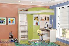 Двухъярусная кровать Мебель Маркет кровать-чердак Симба