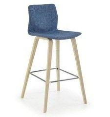 Барный стул Барный стул Halmar H-80 (бук светлый/бирюзовый)