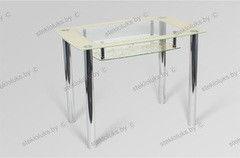 Обеденный стол Обеденный стол Стеклолюкс С 30-04 Франческа