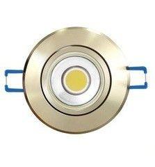 Встраиваемый светильник Uniel ULM-R31 ULM-R31-5W/WW IP20 Gold