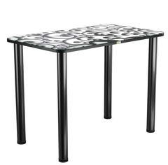 Обеденный стол Обеденный стол Васанти плюс ПРФ 110*70 (№122/Черный)