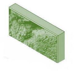 Кирпич Кирпич УДМСиБ бетонный облицовочный 1 ПБ39.19.5,6-П-КОЛ.F150 зелёный