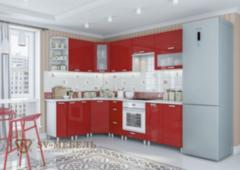 Кухня Кухня SV-Мебель Модерн Гранат (угловая)
