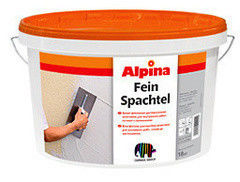 Шпатлевка Шпатлевка Alpina Feinspachtel 15 кг