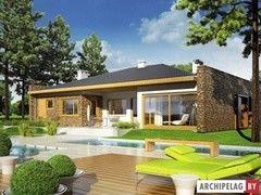 Строительство домов Строительство домов Archipelag Марлон III (Г1) с мансардой