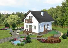 Лучший дом Проект дома М0418133