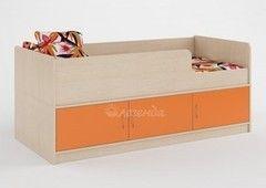 Детская кровать Детская кровать Легенда 35 (венге светлый+оранж)