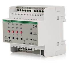 Умный дом GVS Модуль управления светодиодными лентами KA/D 04.L1.1