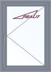 Алюминиевое окно Realit 1000*1400 П