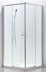 Душевая ширма Adema Glass Vierkant 100 (тонированное стекло)
