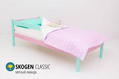 Детская кровать Детская кровать Бельмарко Skogen Classic мятный-лаванда
