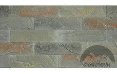 Искусственный камень РокСтоун Рельефный сланец 516П хаки