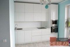 Кухня Кухня Студия мебели ЛДВ Минималистичная из акрила