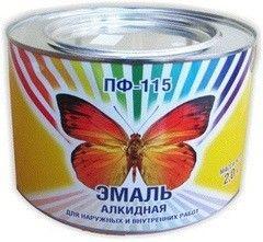 Эмаль Эмаль Belkras ПФ-115 белая (2 кг)