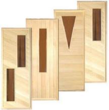 Дверь для бани и сауны Дверь для бани и сауны EcoDoor 1800х700 Деревянная ЧО