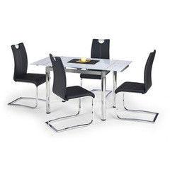 Обеденный стол Обеденный стол Halmar Logan 2 (белый)