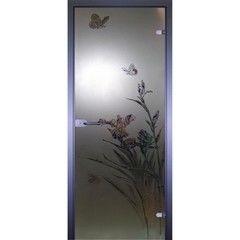 Стеклянная дверь Акма Art-Decor Бабочка 1