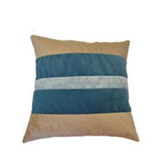 Декоративная подушка Виктория Мебель СК 2316 В бежевый, бирюзовый