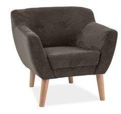 Кресло Кресло Signal Bergen 1 (темно-коричневый)