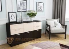 Комод Комод SV-Мебель №1 0128 (дуб млечный/дуб венге)