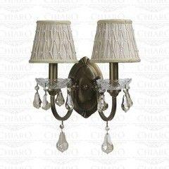 Настенный светильник Chiaro Паула 411020202