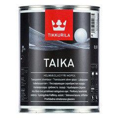 Защитный состав Tikkurila Taika Helmiaislasyyri одноцветная лазурь (базис HL)