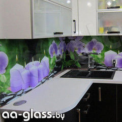 Скинали AA-Glass Скинали 3 из закаленного стекла 6мм + фотопечать (УФ-запекание)