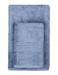 Полотенце Полотенце TAC Maison Bamboo темно-синее 50х90