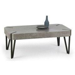 Журнальный столик Halmar Emily (серый/ черный)