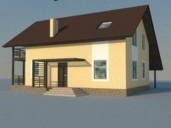 ХоумСистемс Двухэтажный коттедж 2