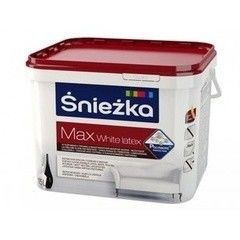 Краска Краска Sniezka Max White Latex 9 л