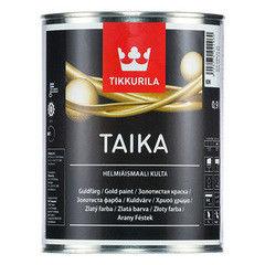 Краска Краска Tikkurila Taika Helmiaismaali Kulta акрилатная (базис KM, 0.1 л)