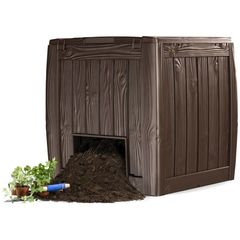 Контейнер, урна Keter Deco Composter, коричневый
