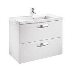 Мебель для ванной комнаты Roca Шкафчик The Gap c умывальником Unik 80x44 cм белый