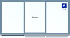 Алюминиевое окно Reynaers 3000*1500 раздвижное