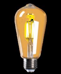 Лампа Лампа JazzWay PLED ST64 GOLD 4w 2700K E27