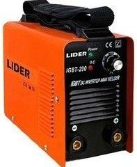 Сварочный аппарат Сварочный аппарат LIDER IGBT-200