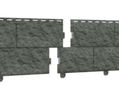 Сайдинг Сайдинг Ю-пласт Стоун-хаус камень изумрудный (двойной замок)