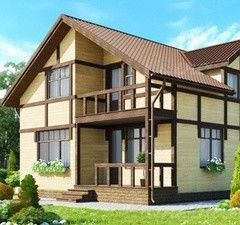 Каркасный дом Каркасный дом ИП Сопин А.В. Пример 3