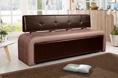 Кухонный уголок, диван ДвериДом Кухонный диван Оскар-2 (венге-капучино)