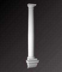 Фасадный декор Европласт Полуколонна 4.10.104