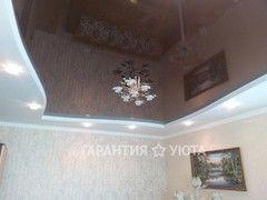 Натяжной потолок Гарантия уюта Вариант 40 (глянцевый)