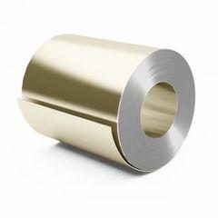 Металлический лист Металлический лист Скайпрофиль Штрипс с полимерным покрытием Полиэстер глянцевый 0,50 мм RAL1015