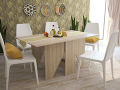 Обеденный стол Обеденный стол Интерлиния СТ-004 (дуб сонома)